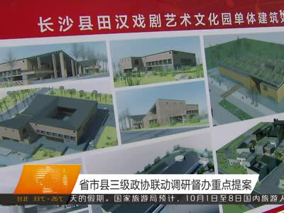 省市县三级政协联动调研督办重点提案