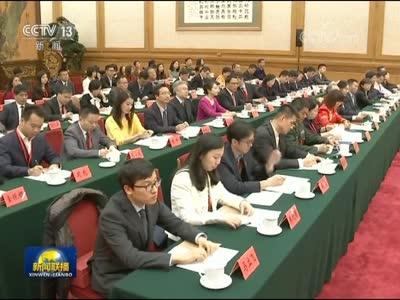 [视频]王沪宁会见新闻工作者代表并讲话