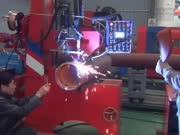 自动焊接设备-管道自动焊机构成