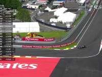雨下得措手不及!F1奥地利站FP2巴顿雨中打滑
