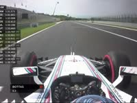 F1匈牙利站排位赛Q2:巴顿TR拒绝换干胎