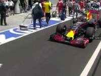 F1匈牙利站正赛赛前:维斯塔潘报告赛车难开