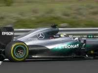 F1匈牙利站正赛冲线回场圈:马修的五小天鹅
