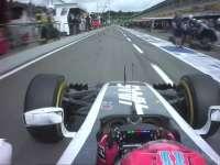 F1德国站FP1:格罗斯让赛车出现问题