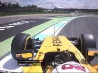 F1德国站FP2:马格努森失误打滑冲出赛道