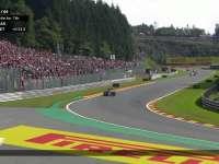 F1比利时站正赛 汉密尔顿TR质疑车队轮胎策略