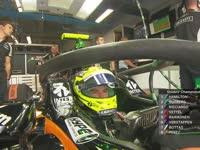 F1意大利站FP1 全新halo装置将被测试