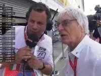 F1意大利站FP1:伯尼维修区接受Ted采访