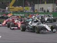 F1意大利站正赛发车:汉密尔顿搞事情掉到第六