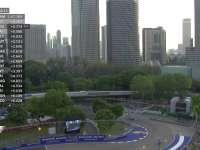 F1新加坡站FP1(中文解说)全场回放