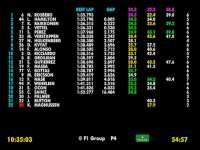 F1马来西亚站FP1(数据)全场回放