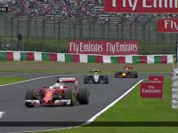 F1日本站正赛:汉密尔顿起步太渣TR中向车队道歉