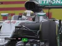 快不行啦!F1日本站正赛:汉密尔顿轮胎衰竭