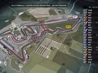 F1美国站FP1全场回放(GPS追踪)