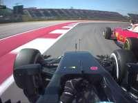 F1美国站FP2:阿隆索莱科宁上演缠斗好戏
