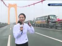 """现场记者为您带来跑步小贴士 亲自上阵体验""""马拉松"""""""