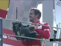 头哥那年曾经玩过的摄像机 2012年F1意大利站