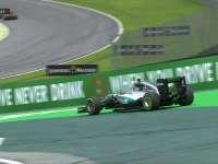 F1巴西站排位赛Q1:罗斯伯格失误冲出赛道