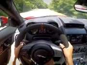 看女司机第一视角狂飙爱车   捷豹F-Type S Coupe带上耳机声浪走起