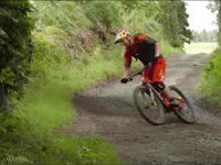 超牛达人秀绝技 乡间自行车真的给跪了!