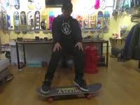 滑板初级教学入门篇第十四集 Frontside Powerslide