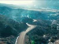 高空唯美镜头 WRC蒙特卡洛站无人机集锦