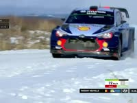 WRC瑞典站SS18:诺伊维尔完赛期待得分