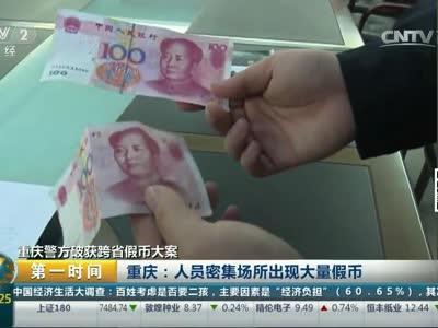 [视频]重庆警方破获跨省假币大案
