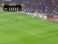 欧联-拉卡泽特建功门将2扑点球 里昂总比分10-9淘汰贝西克塔斯