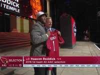NFL2017选秀大会第13顺位 哈森-雷迪克(红雀)