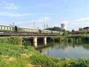 现场实拍:宿州火车站,太原开往上海的K371次火车快速通过