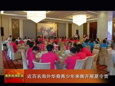近百名海外华裔青少年来衡开展夏令营