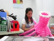 气球造型教程_学扎气球_创意气球编织教程