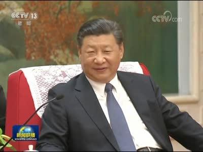 [视频]习近平会见国际奥委会主席巴赫