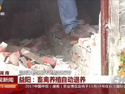 益阳:两座砖厂烟囱成功拆除