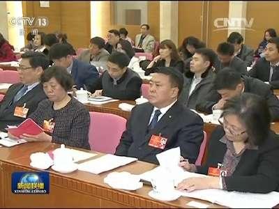 [视频]王岐山参加北京代表团审议