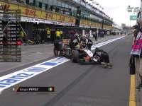 F1澳大利亚站排位Q2 霍肯伯格佩雷兹放弃比赛