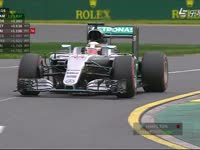 F1澳大利亚站排位大逃杀 汉密尔顿极速夺下50杆