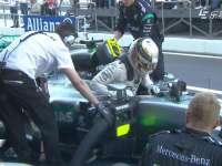 F1俄罗斯站正赛 罗斯伯格四连胜回场疯狂庆祝
