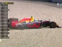 F1奥地利站FP1:罗斯伯格维斯塔潘冲入砂石区