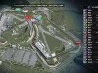 F1英国站FP1全场回顾(GPS追踪 )