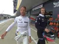 F1英国站排位赛Q1:顿哥暖男提醒摄影师