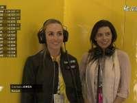 F1英国站排位赛Q2:雷诺美女试车手现身P房