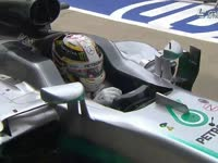 F1英国站排位赛后:车队庆祝TR及赛后庆祝