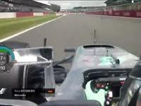 F1英国站正赛(车载)全场回顾