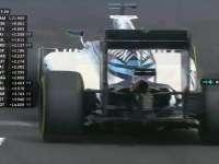 F1匈牙利站FP2:博塔斯TR报告尾翼不正常