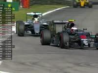 F1意大利站FP2巴顿报告后轮磨损 被车队告知继续坚持