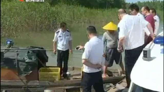 集中销毁非法电力捕鱼工具