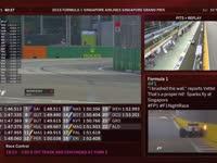 F1新加坡站FP1(维修站)全场回放