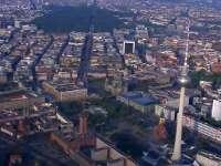 直击2016柏林马拉松 上空俯瞰景色美到爆
